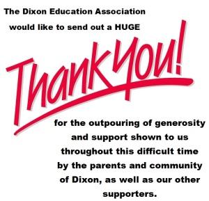 DEA thank you